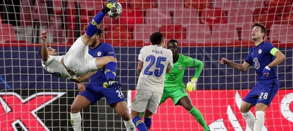 Absolut magnific! Porto a inscris superb in prelungiri cu Chelsea! Golul din foarfeca va face inconjurul lumii