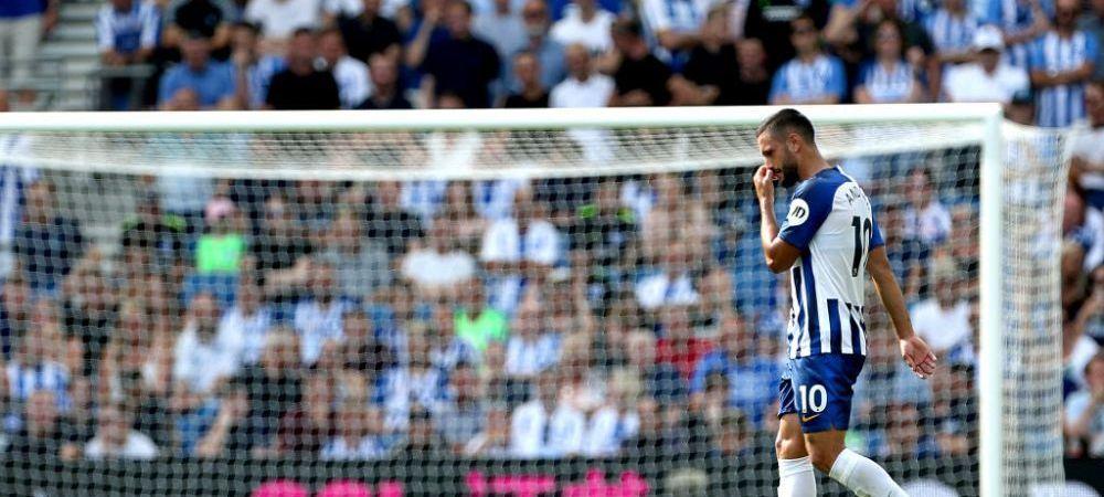 """Ultimele vesti despre accidentarea lui Florin Andone! Antrenorul lui Brighton a facut anuntul! """"Asteptam sa se intoarca la antrenamente"""""""