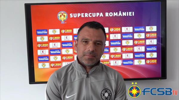 """""""Ambitiile vor fi foarte mari!"""" Ce spune Toni Petrea despre meciul cu CFR Cluj si despre accidentarile lui Miron si Olaru"""