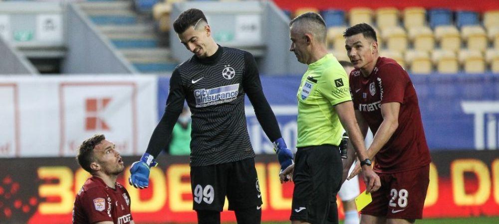 """""""Penalty-urile ratate de noi au facut diferenta!"""" Andrei Vlad a facut un nou meci fabulos pentru FCSB, dar echipa sa a fost invinsa de CFR la loviturile de departajare"""