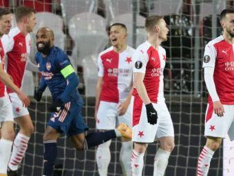 Nebunie totala in meciul lui Stanciu cu Arsenal! 3 goluri si unul anulat in 5 minute! Ce s-a intamplat la Praga