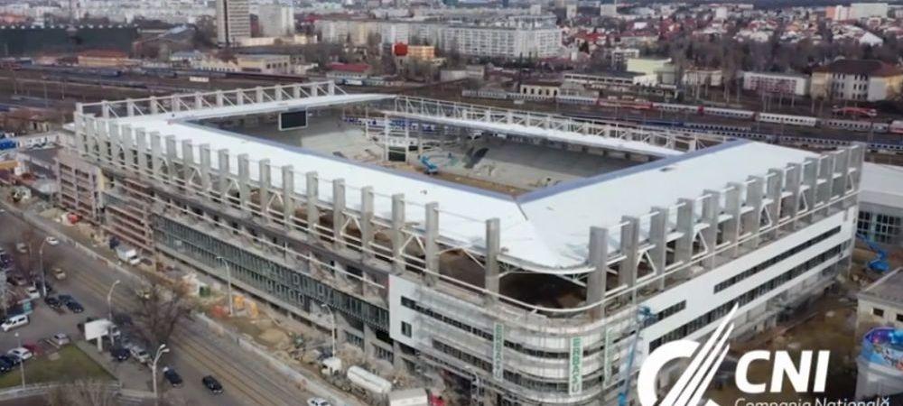 S-a ales numele pentru noul stadion al Rapidului! Arena va fi gata in toamna