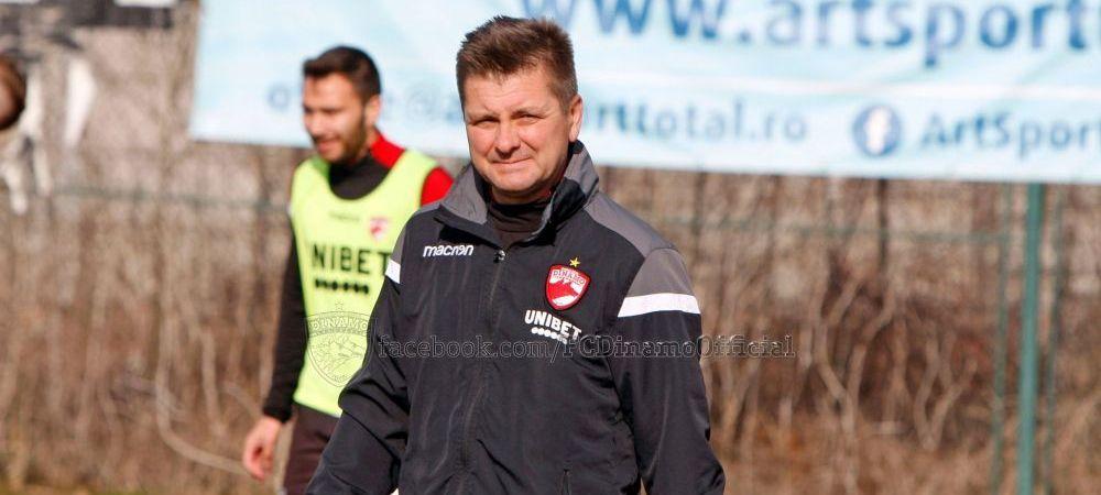 """""""Dau tot ca sa salvez Dinamo! Nu vreau sa zic nimic de probleme, gata!"""" Pentru Dinamo, sezonul incepe acum. Anuntul lui Uhrin"""