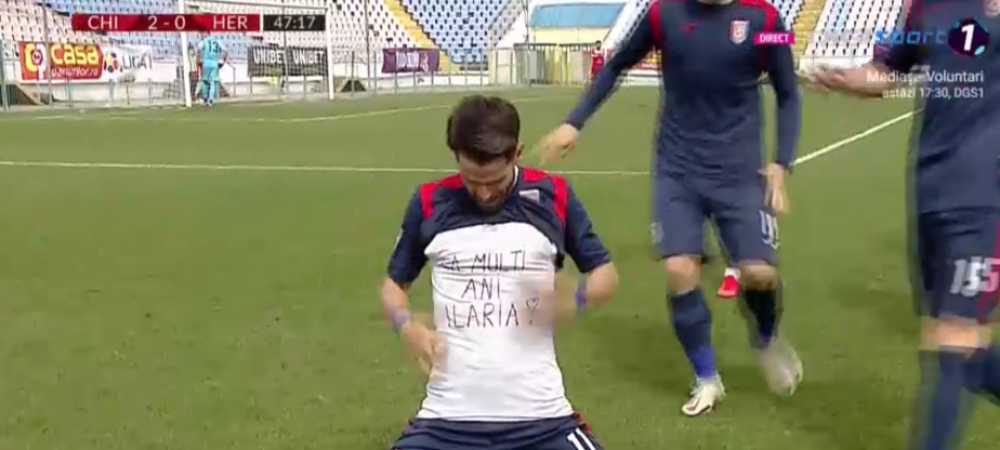 Daniel Florea s-a transformat in Messi si a reusit un gol de senzatie dupa o cursa de la mijlocul terenului! A driblat doi adversari si a trims o racheta sub bara!