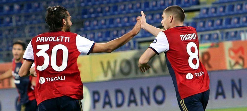 Man si Marin au facut show! Au inscris intr-un meci de infarct, castigat de Cagliari in prelungiri! Aici ai ce s-a intamplat in Cagliari 4-3 Parma