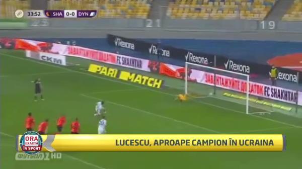 Victorie uriasa pentru Lucescu in fata lui Sahtior! Dinamo Kiev este 99% campioana in Ucraina