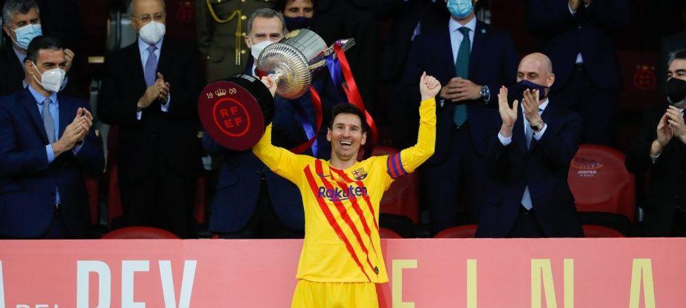Messi zambeste din nou la Barcelona! :) Victorie categorica a catalanilor in finala Cupei Spaniei! Aici ai ce s-a intamplat in Bilbao 0-4 Barcelona
