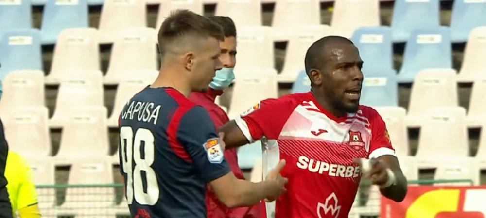 """""""Fa ca un maimutoi!"""" Dezvaluiri incredibile facute de Romario Pires despre incidentul de la finalul meciului cu Chindia: """"Vreau sa se faca dreptate!"""""""