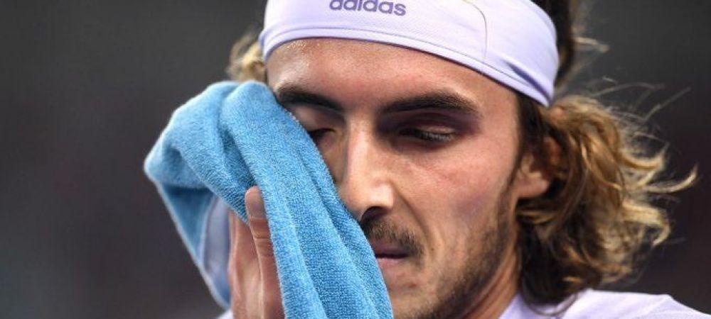 "Novak Djokovic, luat peste picior de noul campion de la Monte Carlo, Stefanos Tsitsipas: ""Surpriza anului? Djokovic sa castige Australian Open, se plangea ca e accidentat grav!"""
