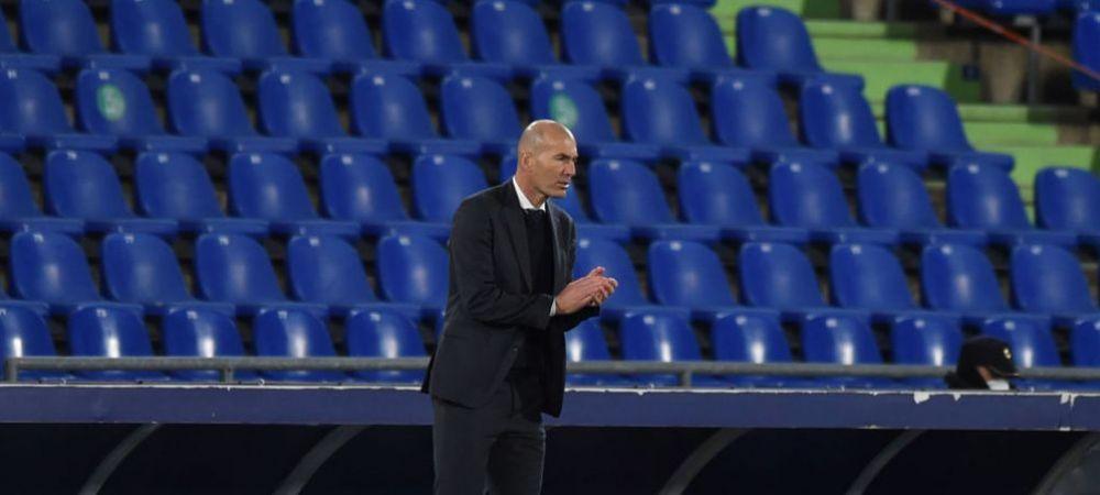"""""""Real Madrid nu are limite, ne vom bate pana la finalul sezonului!"""" Zidane ramane optimist dupa semi-esecul de la Getafe"""