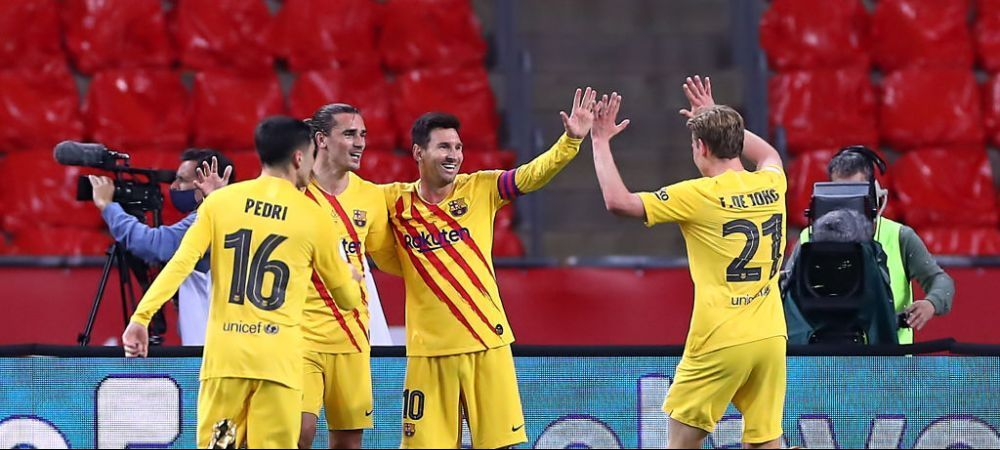 Tiki-Taka a renascut! Catalanii au marcat un gol fabulos dupa o serie de 60 de pase consecutive! Jucatorii adversi nu au inteles nimic