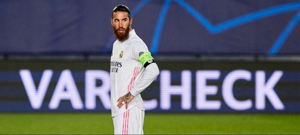 """Ramos, tot mai departe de Bernabeu: """"Suntem intr-o situatie financiara foarte proasta!"""" Ce a spus Perez despre viitorul capitanului de la Real Madrid"""