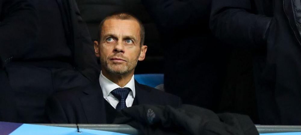 """""""Aveti timp sa va indreptati greselile!"""" Ultimul mesaj al lui Ceferin la adresa cluburilor din Super Liga: """"Sa isi aminteasca de unde vin!"""" Reactie transanta a sefului UEFA"""