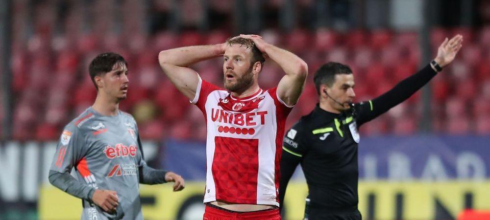 Dinamo 0-1 UTA | Inca un meci fara gol marcat pentru echipa lui Uhrin care poate fi depasita in clasament de Poli Iasi! UTA urca pe primul loc in playout! Cum arata clasamentul