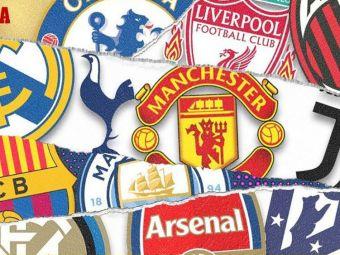 La asta nu se astepta nimeni! Doar City a iesit din Super Liga! Atletico, Barcelona si Chelsea fac inca parte din proiect! Ce s-a intamplat la sedinta cluburilor fondatoare