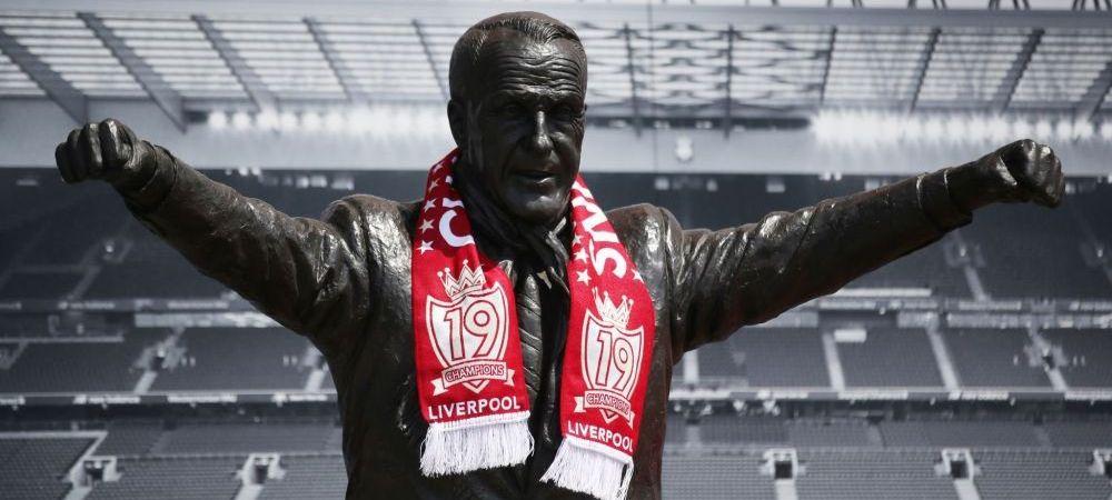 Fabulos! Familia legendarului Bill Shankly a cerut ca statuia fostului antrenor sa fie luata de pe Anfield daca Liverpool va intra in Super League!