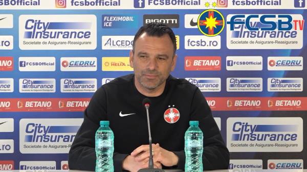 """Petrea, anuntul momentului despre accidentarile din lot! Ce a spus antrenorul FCSB inainte de meciul cu Clinceni: """"Inca avem probleme!"""""""