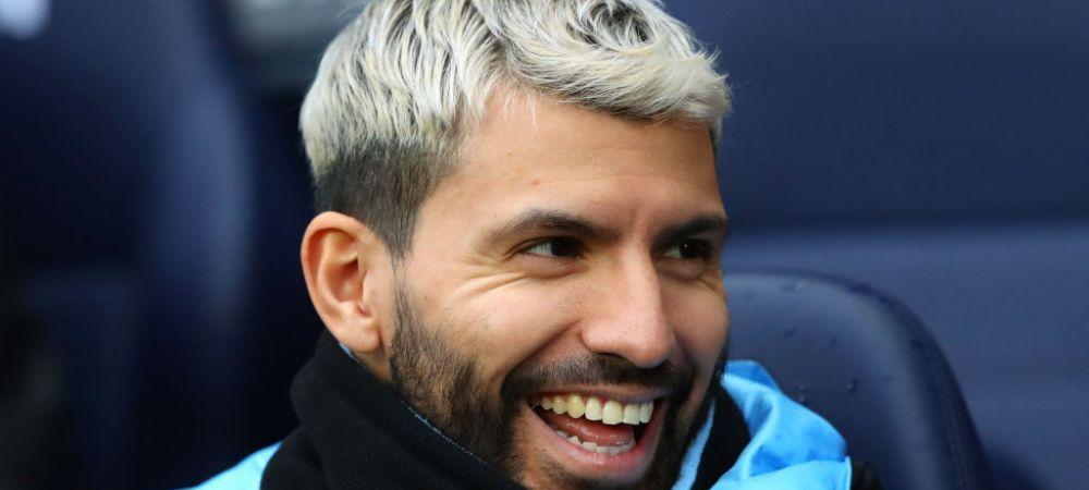 Au fost facute publice poze cu noul echipament al lui Manchester City!Cum arata tributul adus lui Kun Aguero