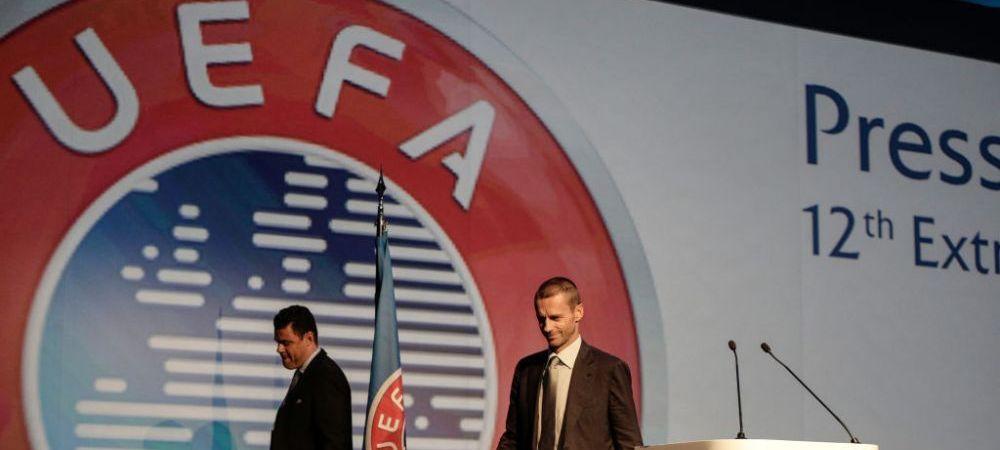 Cele 12 cluburi fondatoare ale Super Ligii, in pericol!Comitetul Executiv al UEFA se va reuni vineri pentru a decide ce sanctiuni vor fi luate