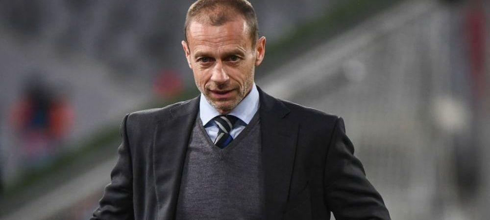 """Ceferin, atac dur la Perez: """"El nu e presedintele nimanui! Nu ma place pentru ca nu fac ce vrea el!"""" Cum a fost tradat presedintele UEFA de fondatorii Super Ligii"""