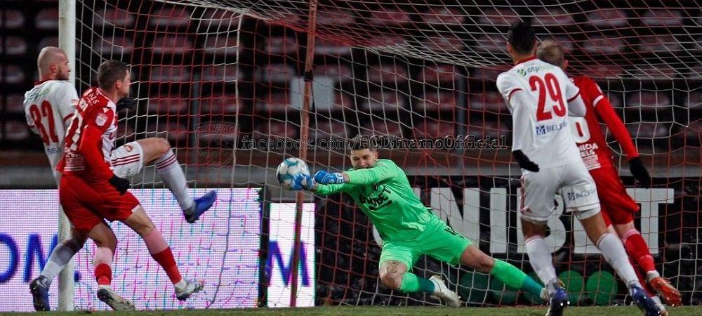 Revenire importanta la Dinamo inaintea meciului cu Gaz Metan! Cine este titularul care s-a intors la antrenamente