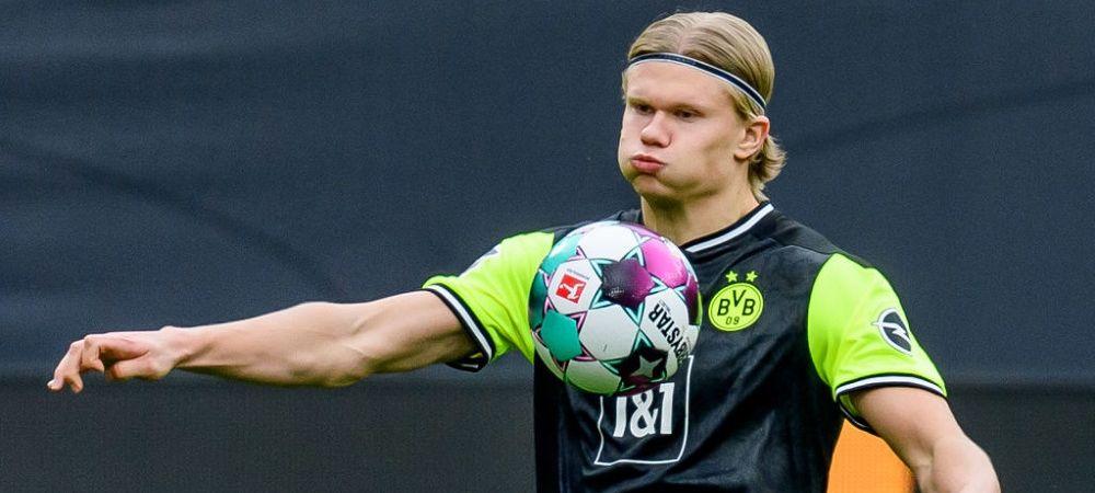 Detalii de ultima ora despre transferul lui Haaland! Ce se va intampla daca Borussia va rata urmatorul sezon de Champions League