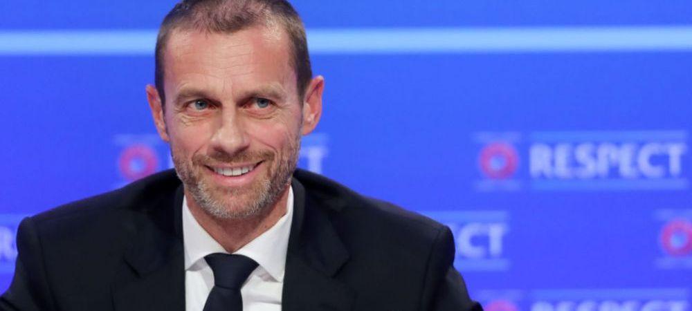 """""""Echipa asta m-a dezamagit cel mai putin!"""" Ceferin si-a ales si favorita dupa scandalul Super Ligii! Despre ce echipa a vorbit seful UEFA"""