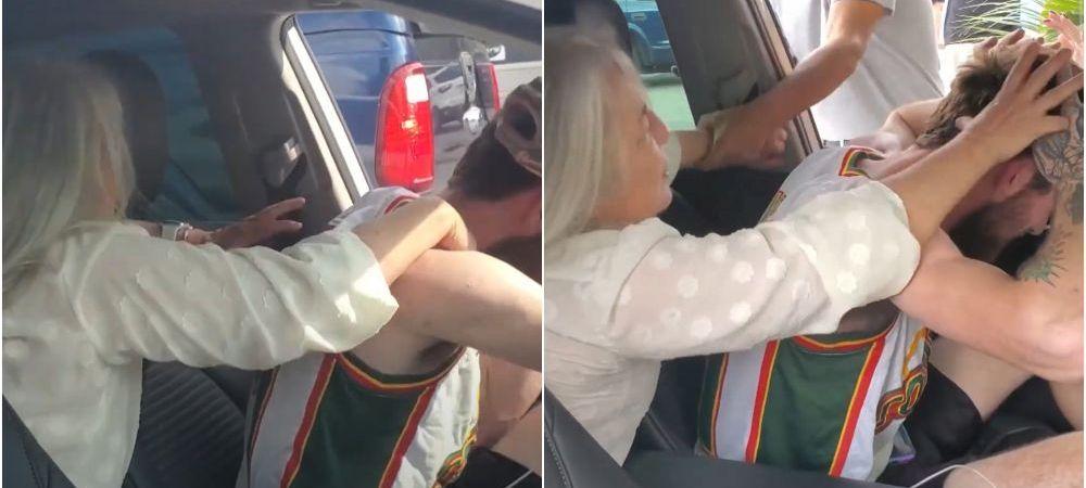 Clipe de cosmar pentru un sofer pe Uber! Pasagerul a inceput sa il stranguleze si sa il muste in timpul cursei