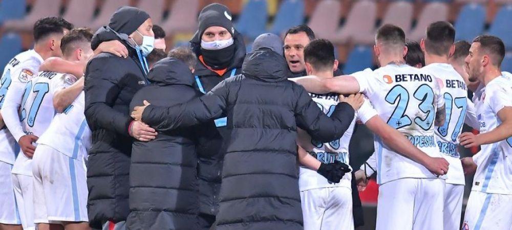 """""""A venit momentul sa castigam cu ei!"""" Petrea, declaratie razboinica dupa victoria cu Clinceni! Ce a spus antrenorul FCSB despre declaratiile lui Gigi Becali"""