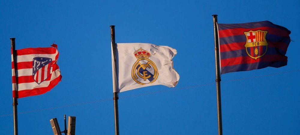 FOTO Aroganta imensa a televiziunii spaniole la adresa echipelor din Super Liga! Ce mesaj a aparut pe ecrane la meciurile din La Liga