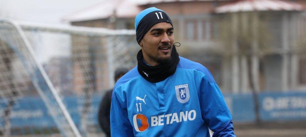 """Baiaram, despre pasiunea pentru Universitatea Craiova: """"Mi-am dorit foarte mult sa castig un trofeu!""""Ce spune despre un transfer in afara"""
