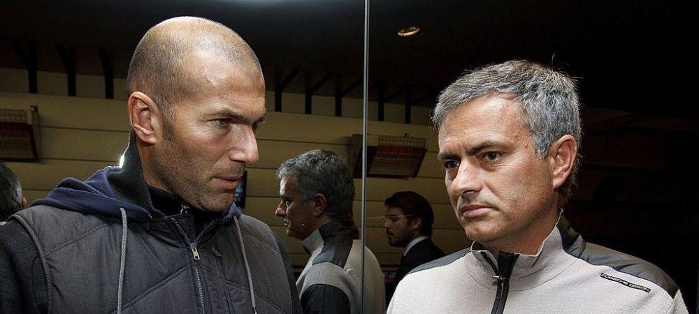 """""""Cioc, cioc! Mourinho sunt!"""" :) Perez l-a trecut pe primul loc pe lista lui Real daca pleaca Zidane. Anunt de ultima ora"""