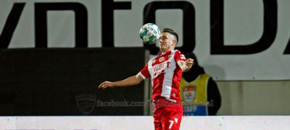 """""""Daca mai jucam asa, n-avem nicio sansa sa scapam de la retrogradare!"""" Steliano Filip si teama de Apocalipsa la Dinamo"""