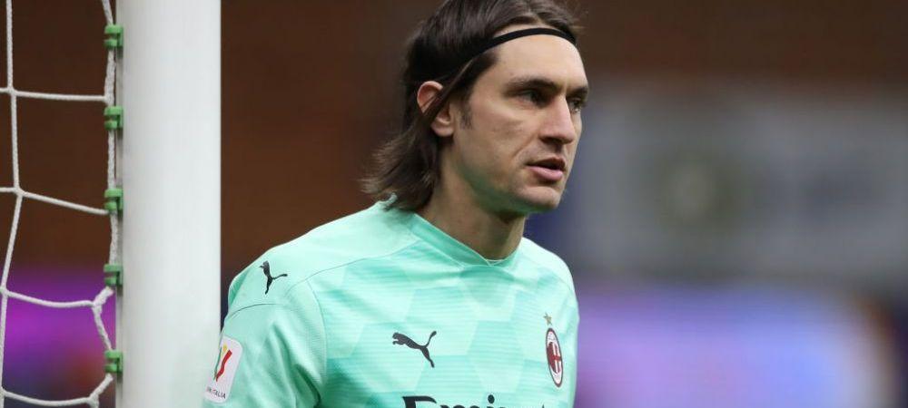 Tatarusanu, fara sanse la AC Milan! Ce decizie au luat sefii de pe San Siro cu privire la portarul roman