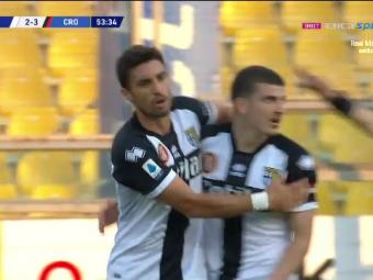 Parma 3-4 Crotone   GOOOOL MIHAILA!!! Romanul a marcat cu un sut imparabil de la 11 metri. Parma, ca si retrogradata dupa un meci nebun