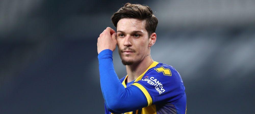 Dennis Man, dorit de un club important din Spania! Unde ar putea ajunge daca Parma retrogradeaza