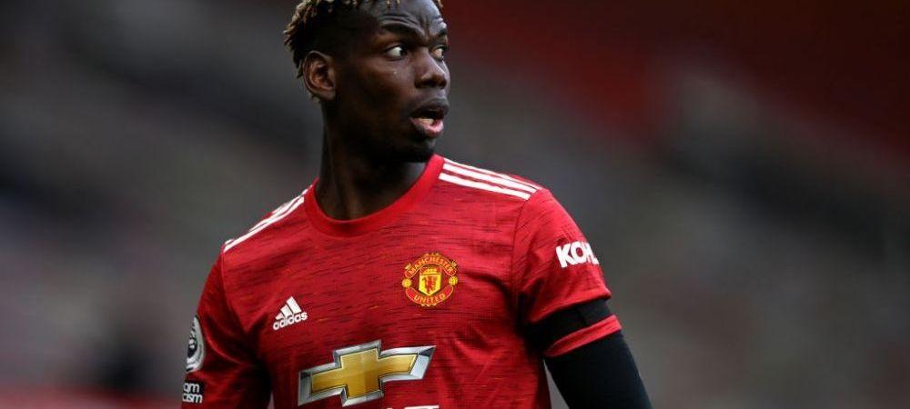 Pogba cere un salariu astronomic pentru a-si prelungi intelegerea cu Manchester United! Pentru ce suma vrea starul francez sa semneze