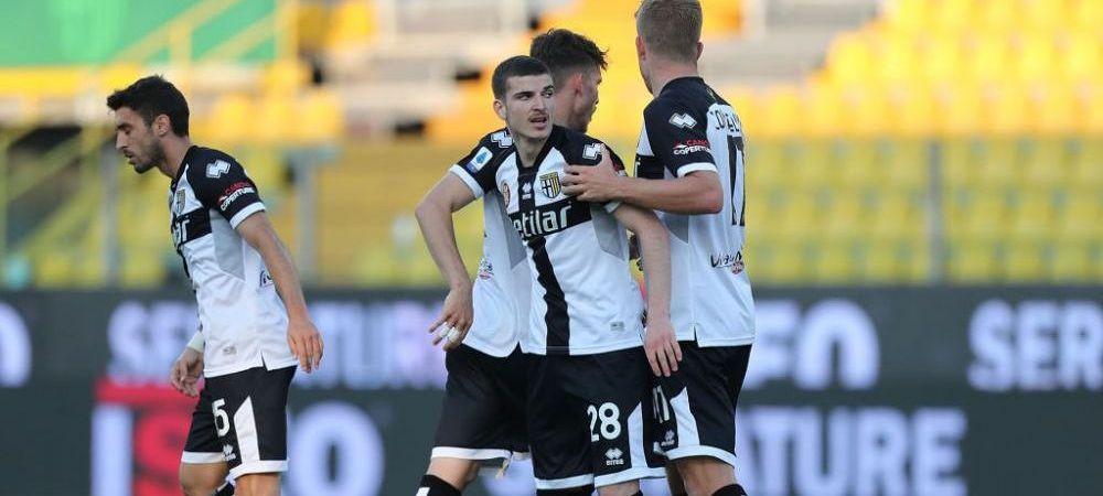 Mihaila, printre cei mai buni de la Parma. Man ar putea sa-si fi incheiat sezonul in Serie A! Ce scriu italienii dupa Parma 3-4 Crotone