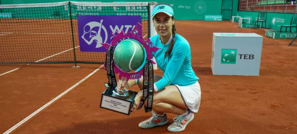 Super Sorana Cirstea e campioana la Istanbul! Romanca a castigat al doilea titlu WTA al carierei: a invins-o 6-1, 7-6 pe Elise Mertens (17 WTA)