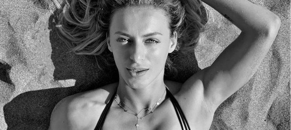 Ana Bogdan, surprinsa in ipostaza sexy la plaja, dupa turneul de la Istanbul!   Imaginea prin care fanii s-au convins de conditia sa fizica ireprosabila