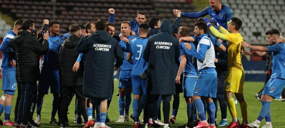 Academica Clinceni nu si-a luat licenta pentru sezonul urmator de Europa! Ce se intampla cu meciurile din playoff-ul Ligii 1