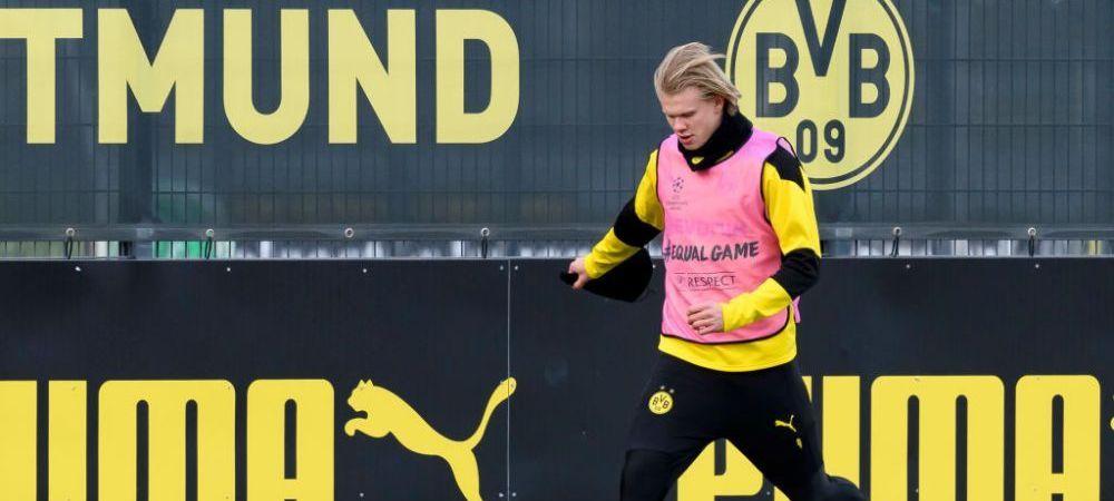 Haaland ar putea pleca de la Borussia daca echipa nu isi implineste obiectivul! Ce conditie a pus starul norvegian
