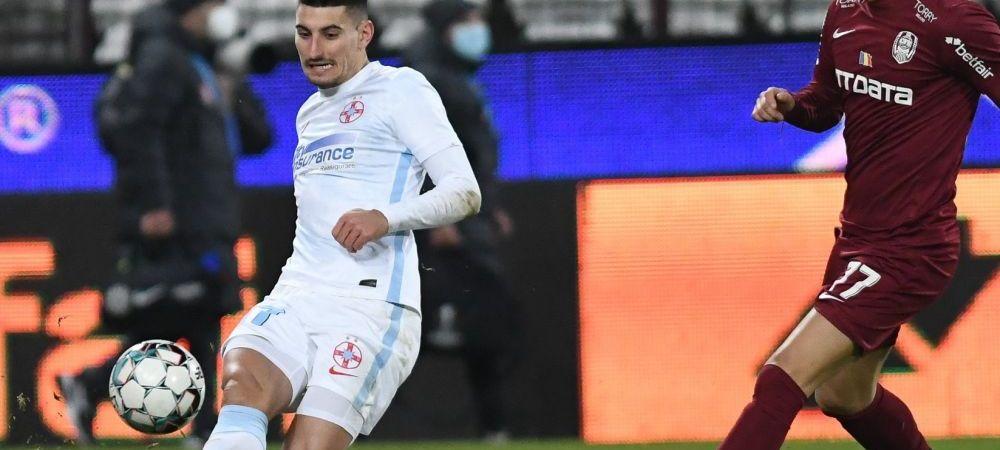 Iulian Cristea, pedepsit de Becali pentru ca nu a rupt contractul cu Anamaria Prodan? Cosmarul prin care trece fundasul la FCSB