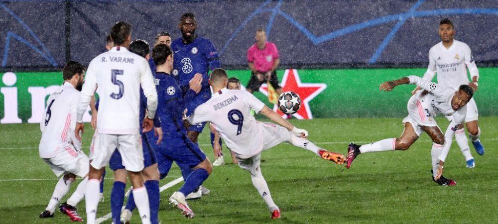 Fondatoarele din Super Liga, remiza in Champions League! Finalista se decide pe Stamford Bridge! Pulisic si Benzema au inscris la Madrid! Aici ai tot ce s-a intamplat in Real 1-1 Chelsea