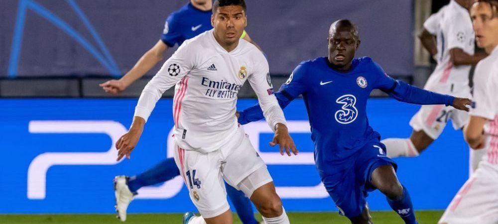"""""""Joaca pentru doi!"""" El este jucatorul care a facut senzatie in Real Madrid - Chelsea! Cifre incredibile pentru Kante"""