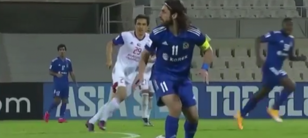 VIDEO | S-a concentrat atat de mult sa ii iasa driblingul incat a uitat unde e mingea! :)Faza incredibila din Liga Campionilor Asiei