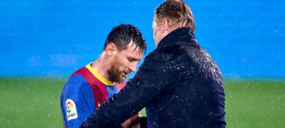 """""""Nu ma preocupa viitorul lui Messi!"""" Reactia lui Koeman cand a fost intrebat despre oferta pe care PSG i-ar fi facut-o starului Barcelonei! Ce a spus antrenorul"""
