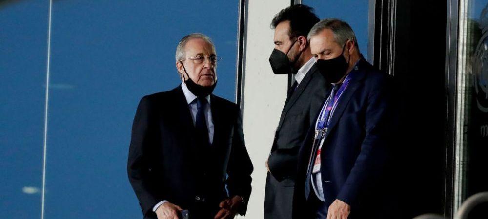 Perez, furios pe strategia din Super Liga! Pe cine acuza presedintele lui Real Madrid de esecul proiectului