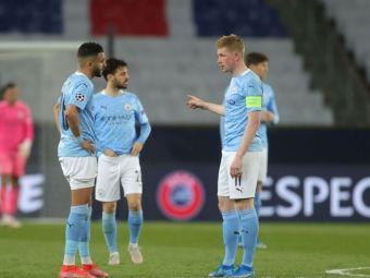 De Bruyne a spus tot la finalul meciului nebun cu PSG! Ce i-a spus Mahrez inainte sa inscrie din lovitura libera
