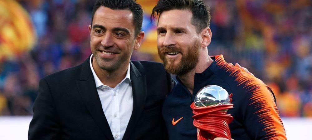 """""""S-au facut lucrurile foarte rau daca Messi a ajuns asa!"""" Xavi, crtici dure pentru fosta conducere a Barcelonei! Ce a observat despre starul argentinian"""